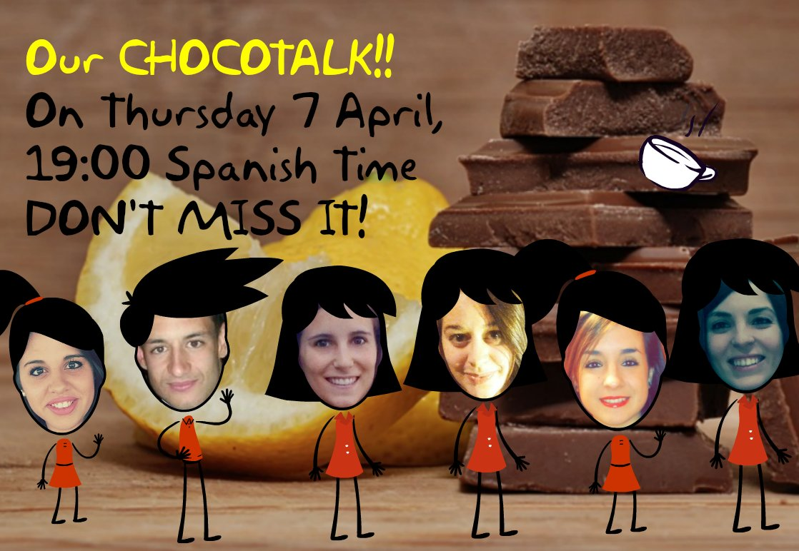 ARE YOU READY FOR OUR CHOCOTALK ABOUT CLIL? WE ARE!!!!! #ictclil_urjc #chococharlas https://t.co/3tU4ZqYVco