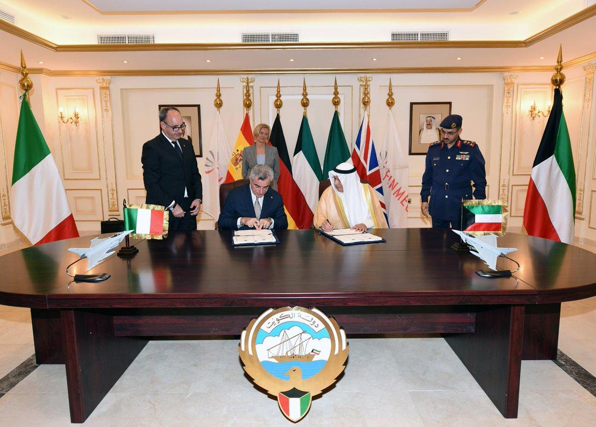 رسمياً: الكويت توقّع عقد الحصول على 28 مقاتلة يوروفايتر تايفون CfSvUCBVIAAuN--