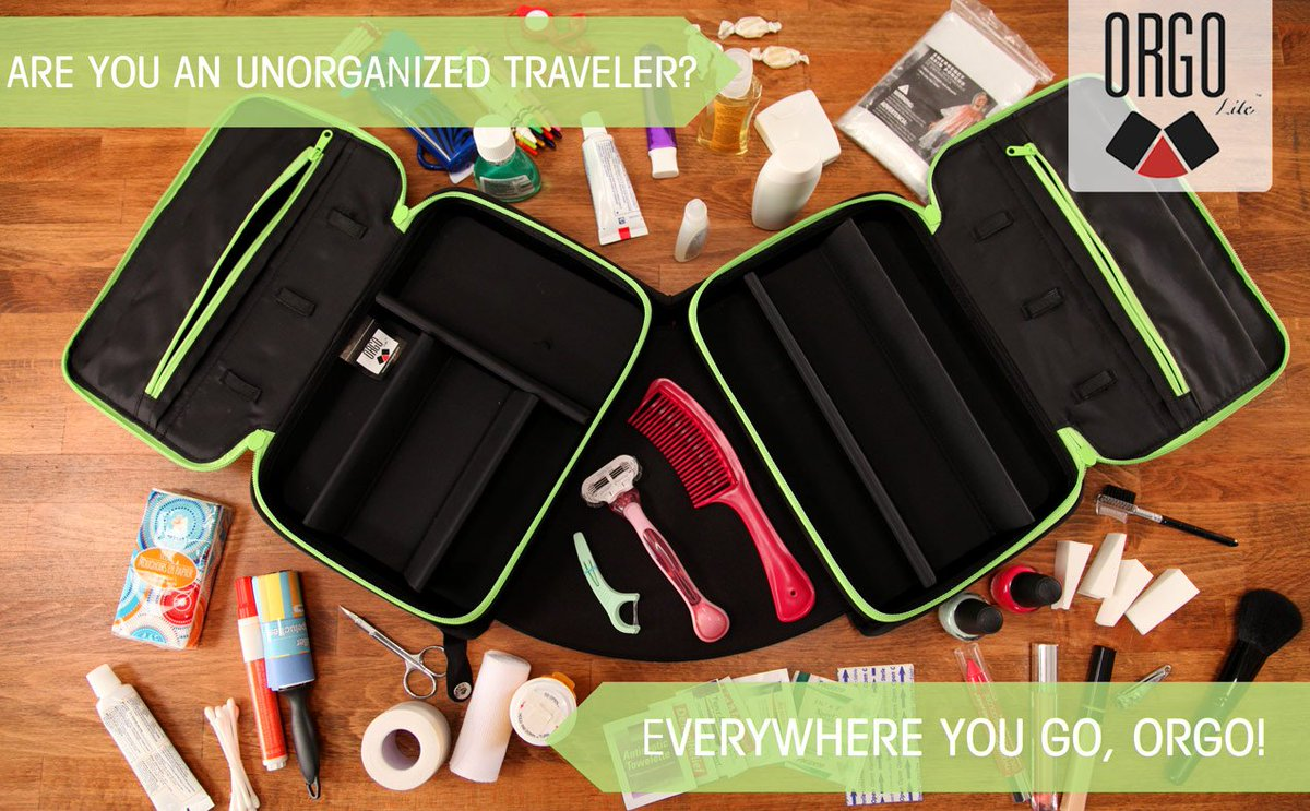 Travel should be fun! Take the stress out of it with ORGO! #EverythingOrgo #Travel #Wanderlust #Organized #TravelBag<br>http://pic.twitter.com/u7QBXAUUfS