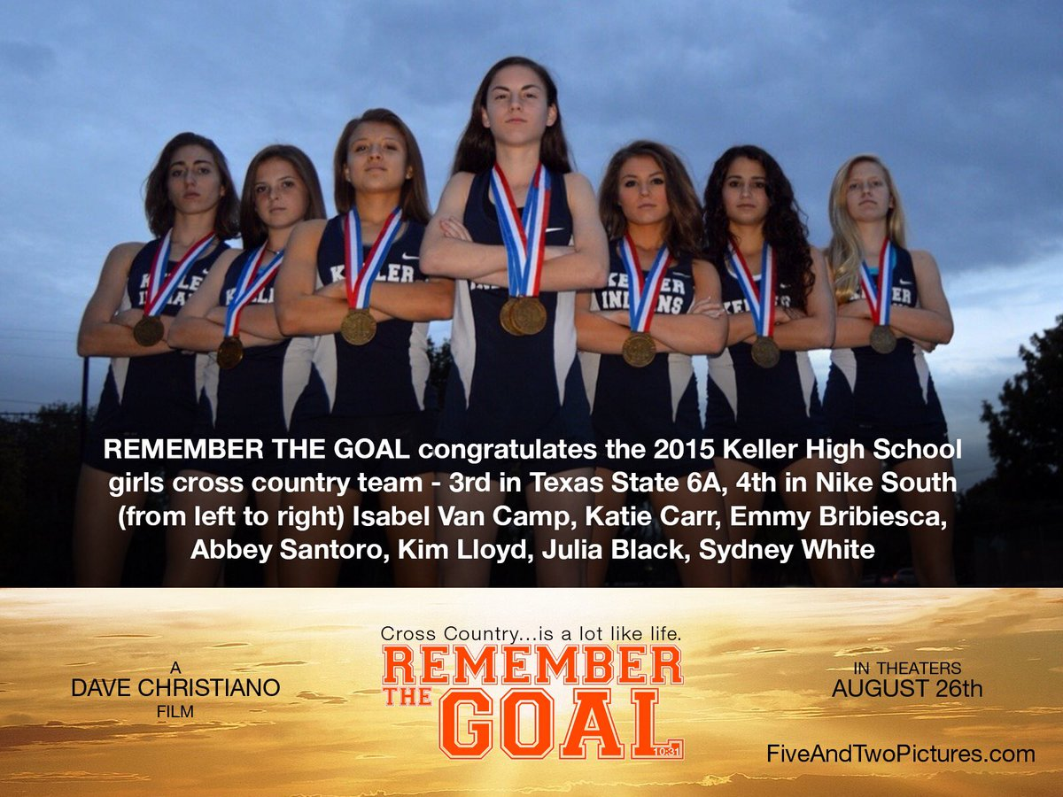 KHSXC is excited to be recognized by the producer of Remember the Goal! In theaters August 26th #Rememberthegoal <br>http://pic.twitter.com/08SfKFXKzz