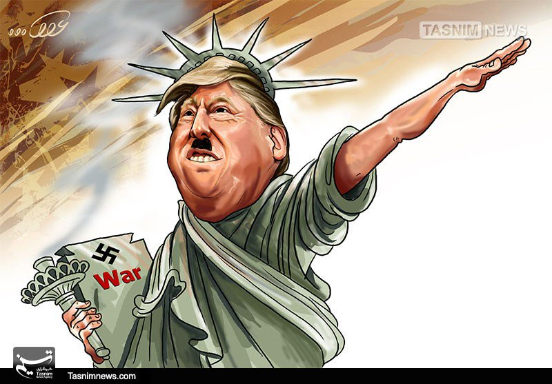 Image result for trump and nazi cartoons