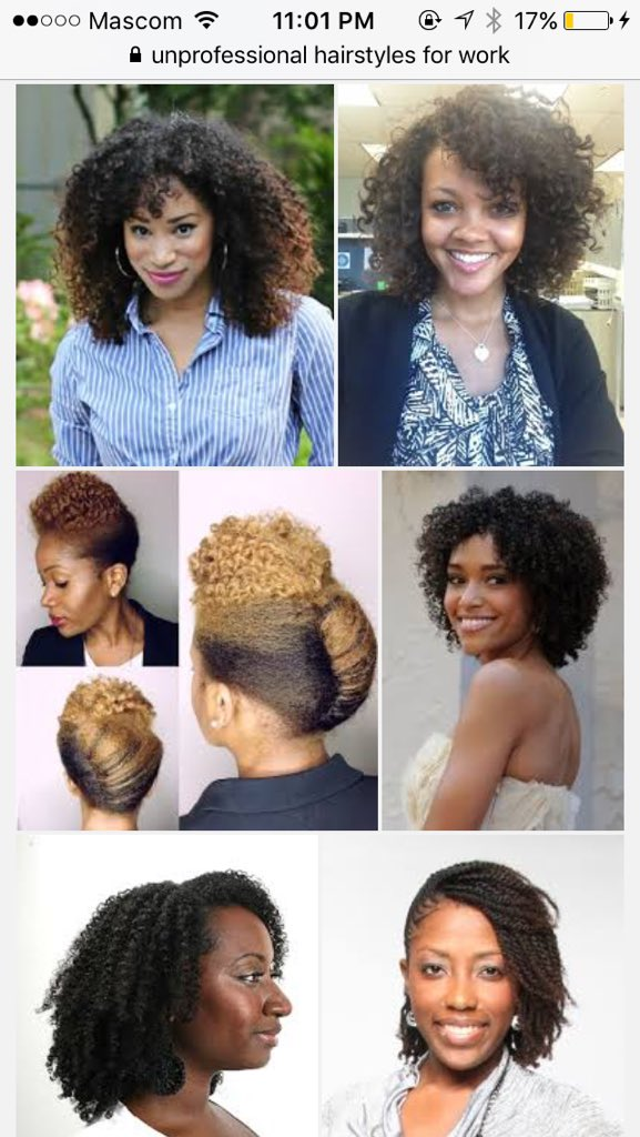 Do Google\'s \'unprofessional hair\' results show it is racist ...