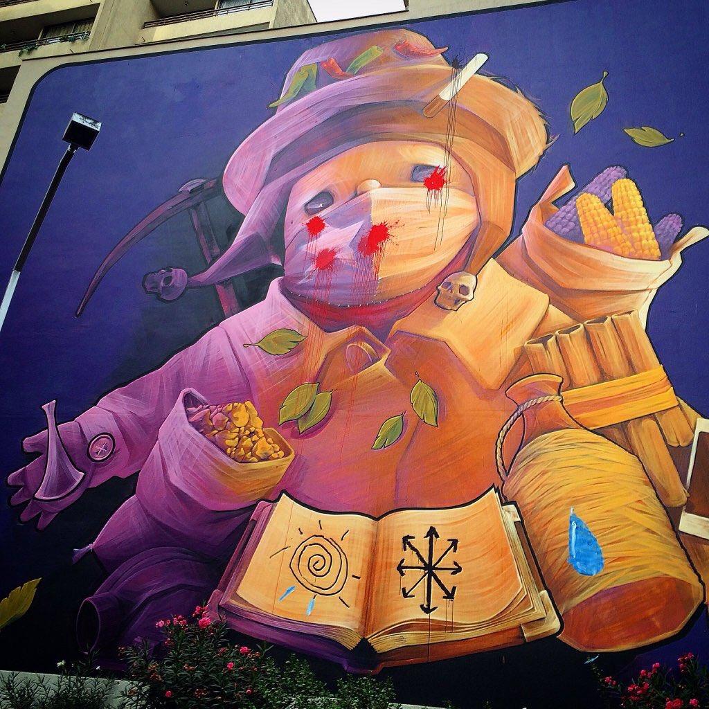 Rodrigo Guendelman On Twitter El Mural De Inti En El Barrio