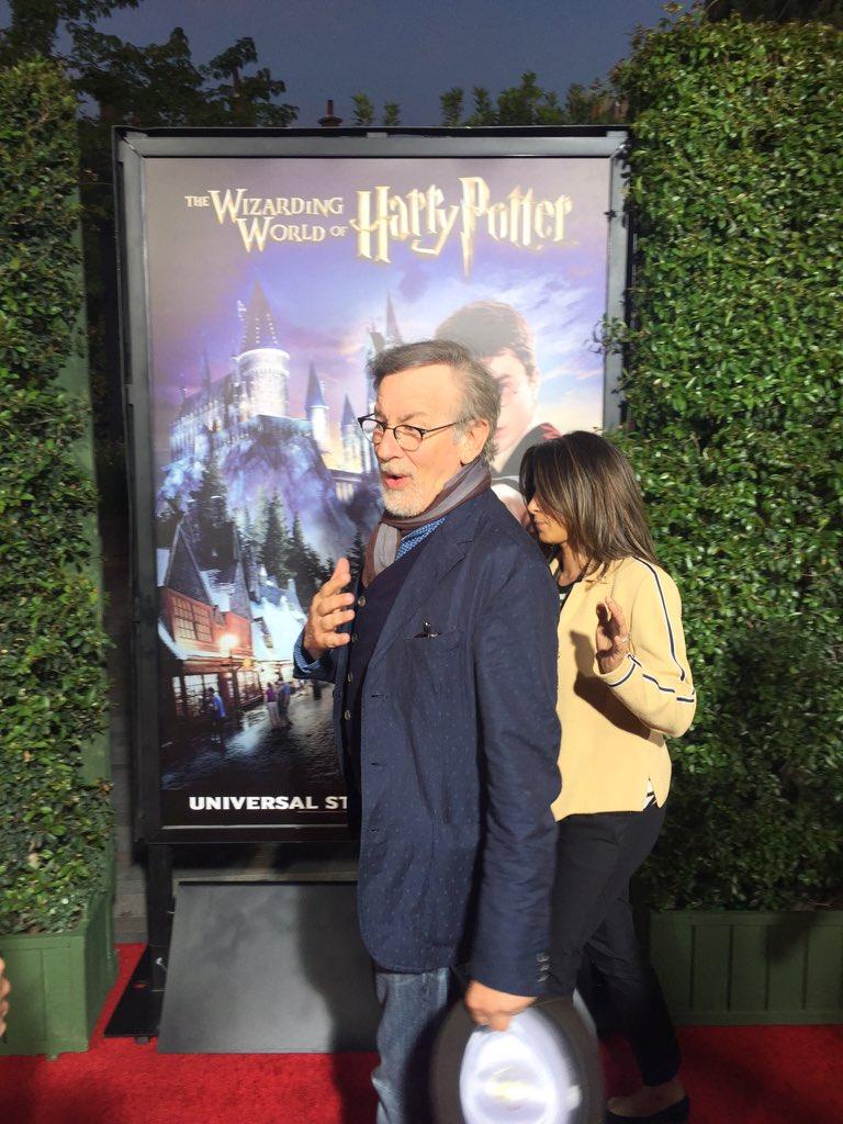 spielberg wizarding wordl hollywood