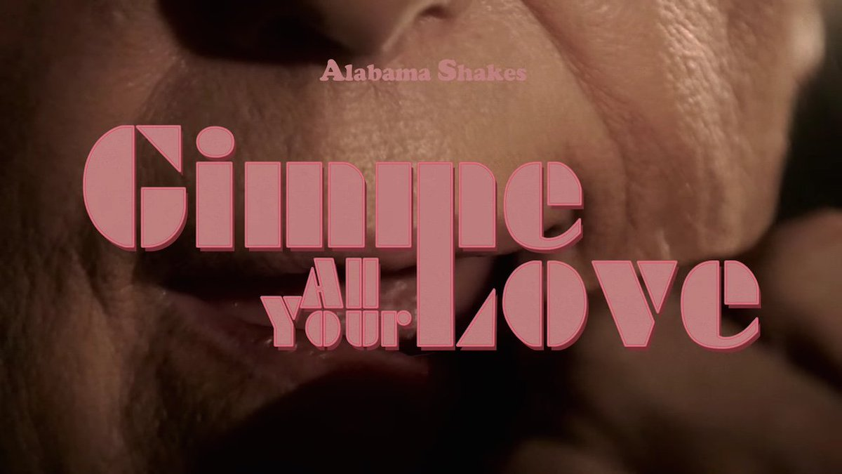 A new music video for @Alabama_Shakes, from our 'Gimme All Your Love' short film project: https://t.co/hTFIMkdqTr https://t.co/9F6wbcKzMd