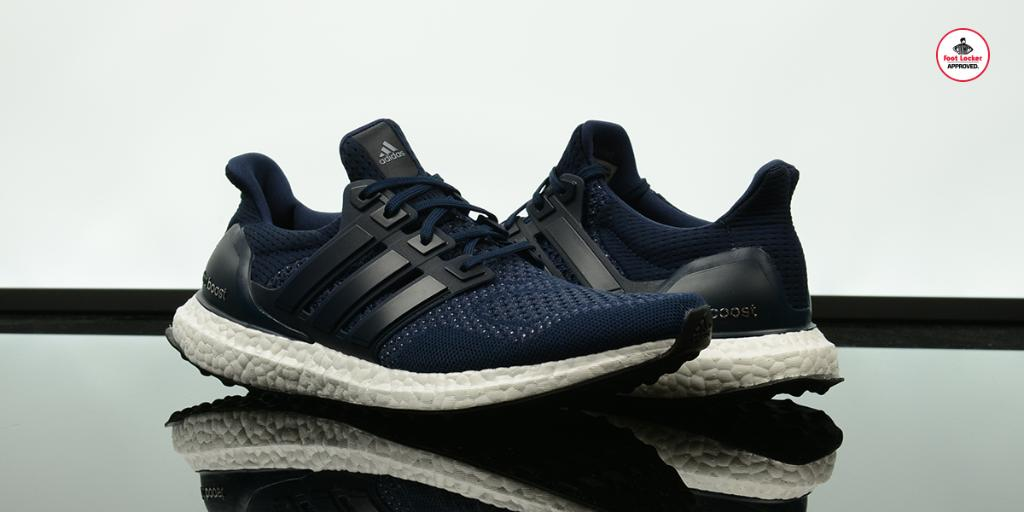 Adidas Ultra Boost Navy On Feet