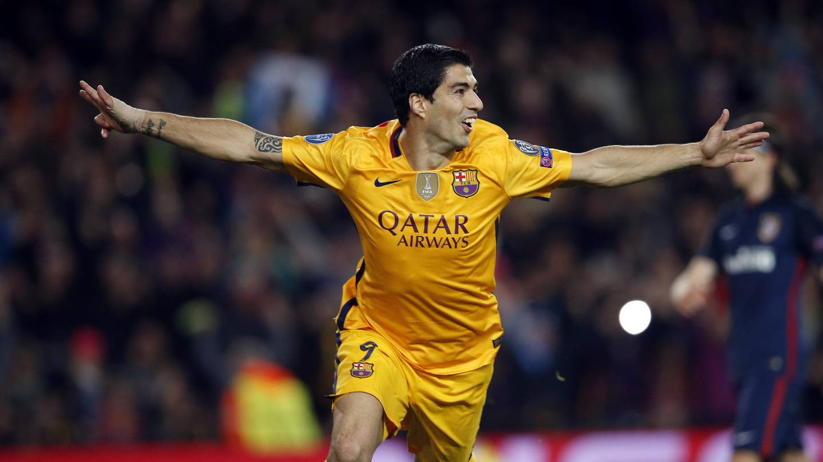 Champions Barcellona-Atletico Madrid 2-1 Video Gol: doppietta Suarez in rimonta