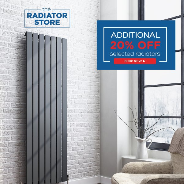 Our Spring #Sale is here with an additional 20% off selected Radiators | Shop Now https://t.co/WuZFyyHhNG https://t.co/hC29C2JACm