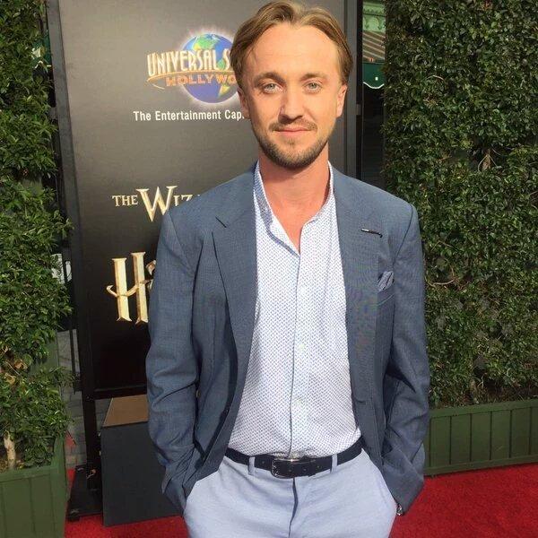tom felton wizarding wworld hollywood