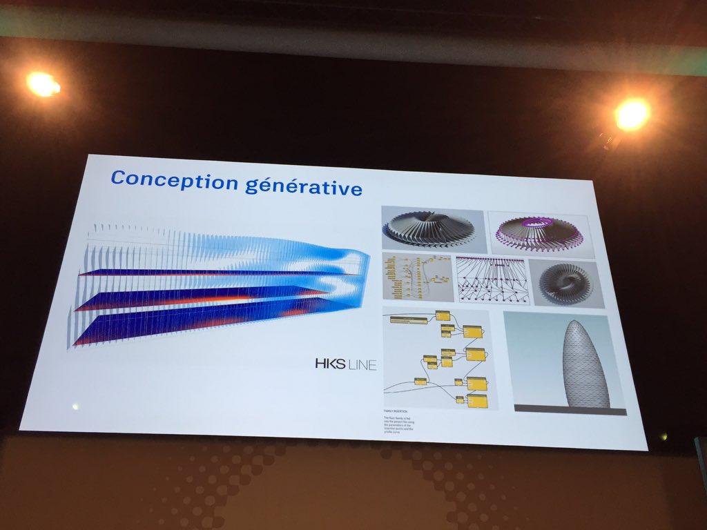 """#BIMWorld """"à l'ère du tout connecté, le cloud change ! Un exemple avec la conception générative"""" N. Mangon https://t.co/B7POGIGaoP"""