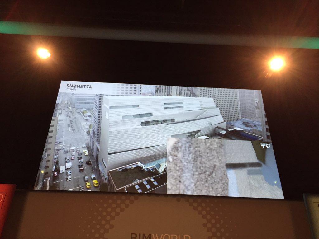 """#BIMWorld """"l'architecte peut désormais imprimer en 3D les façades !"""" N. Mangon https://t.co/1z7BAfHMA1"""