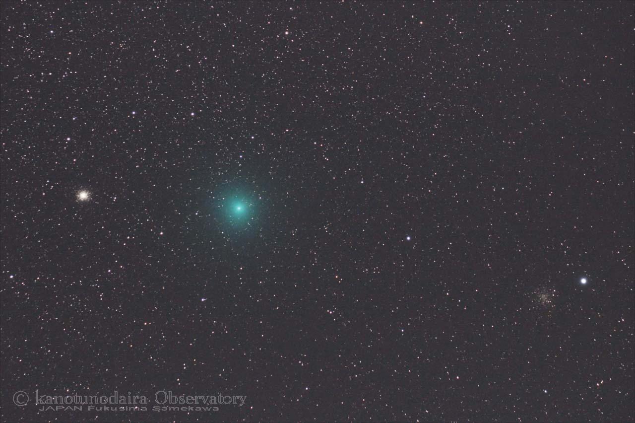 リニア彗星初見。暗夜にやっと晴れた!