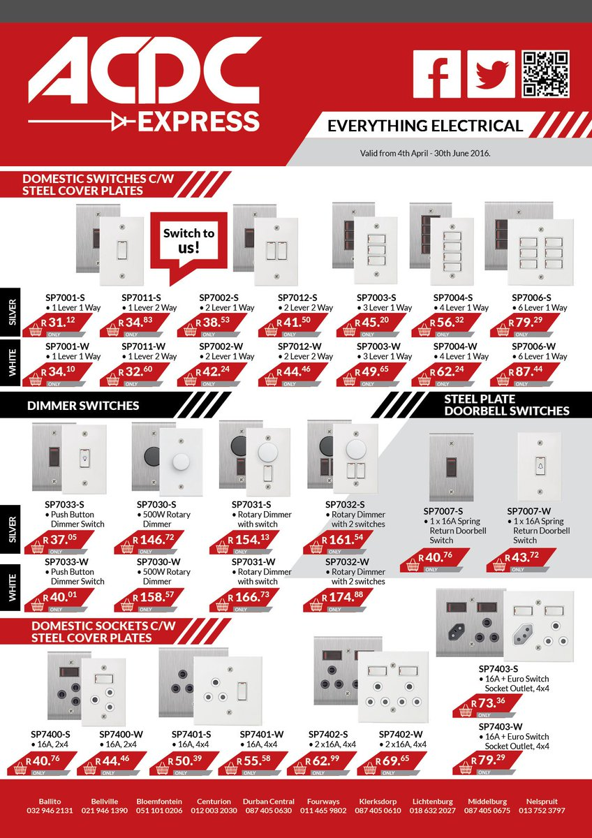 Acdc Express On Twitter Get Terrific Offers At Your Nearest Dimmer Switches Electrical 101 Store Today Acdcexpress Everythingelectrical Special