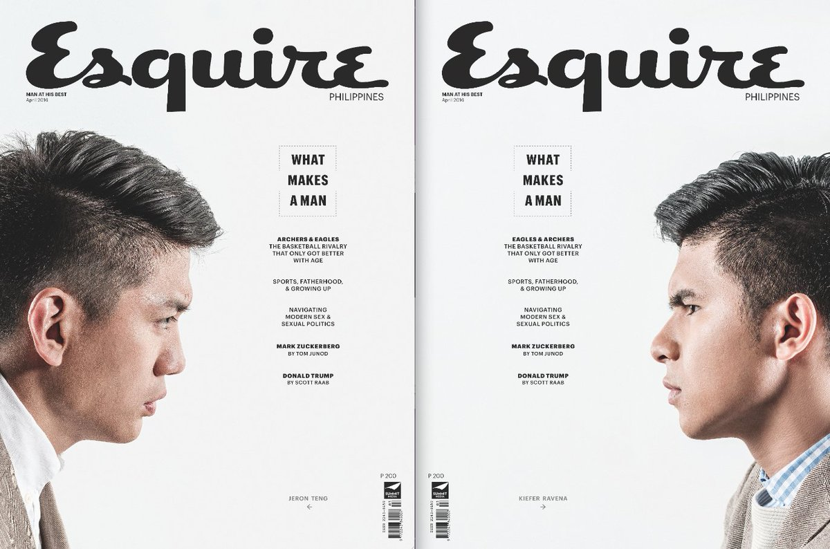 This month on ESQUIRE, the faces of basketball's longstanding rivalry @jeronteng and @kieferravena. https://t.co/EICXvVowp6