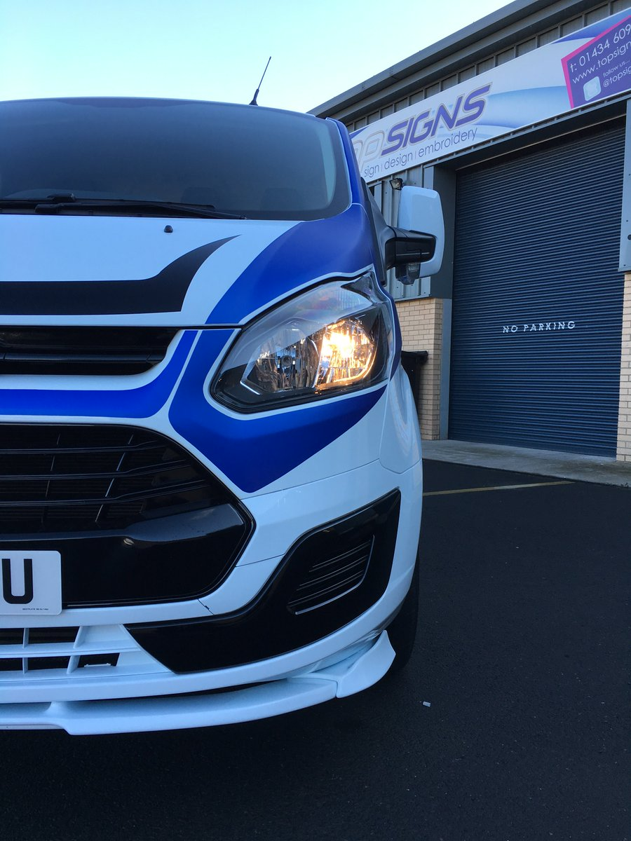 Top Signs Ltd On Twitter Another Transit Custom Fitted