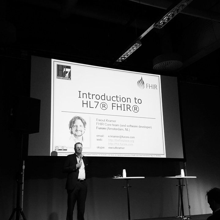 Such a great group of ppl we've gathered for the #FHIR intro and workshop here at Vitalis! #HL7Sweden #vitalis https://t.co/jOmwIpiKyB