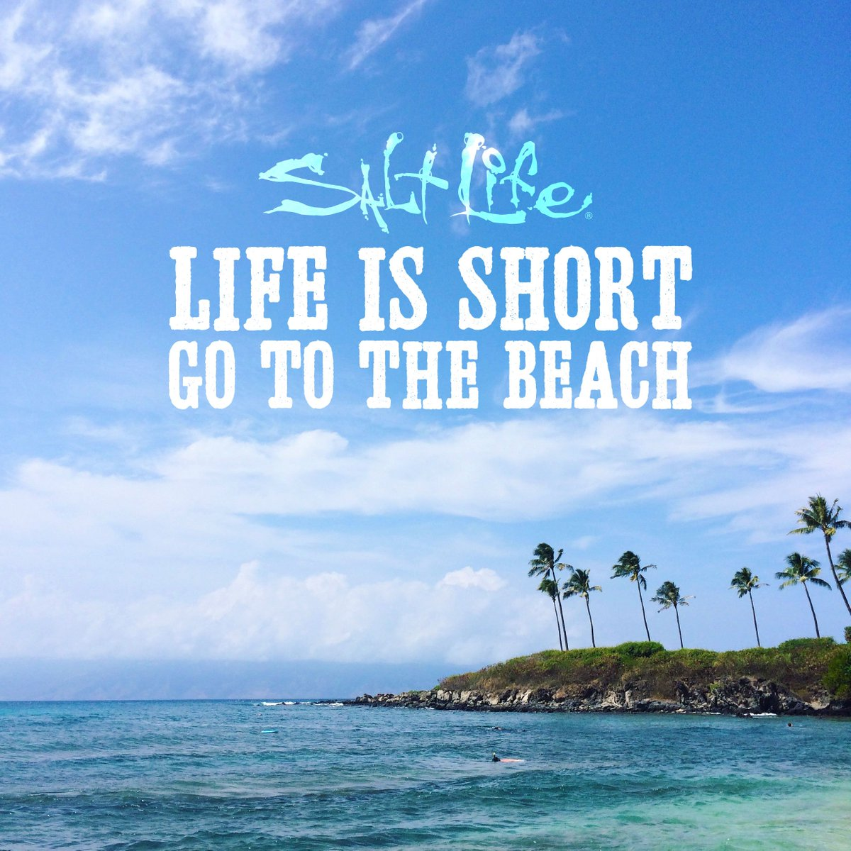 """Short Vacation Quotes: Salt Life On Twitter: """"Life Is Short, Go To The #beach"""