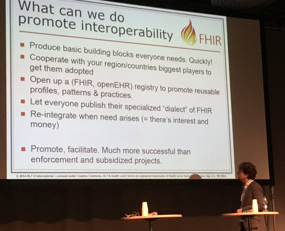 @ewoutkramer delivering a nice #FHIR talk at #vitalis2016 including #openEHR references and excluding hype. https://t.co/0INszIVCQQ