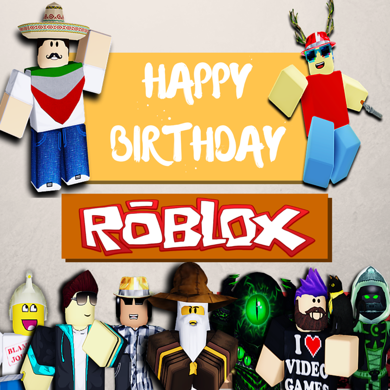 Red Penguin On Twitter Quot Happy Birthday Roblox