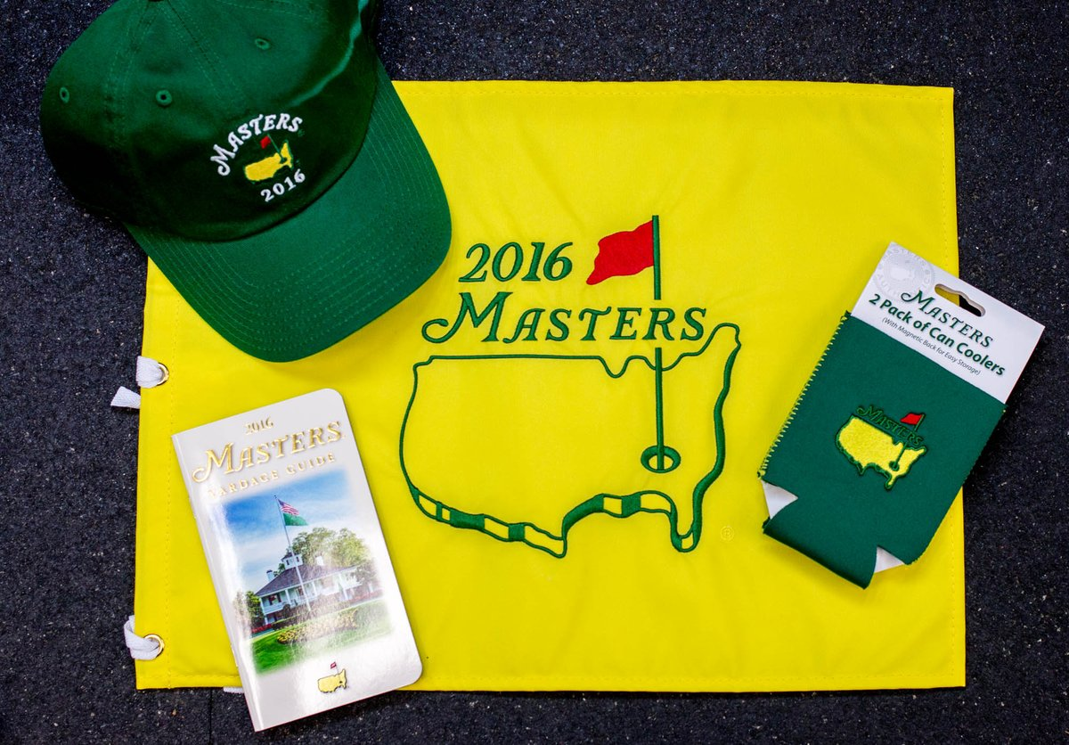 Want some Masters gear? RT for a chance to win! Winners will be chosen at random tomorrow. #TheMasters https://t.co/yLoU3ccbxu