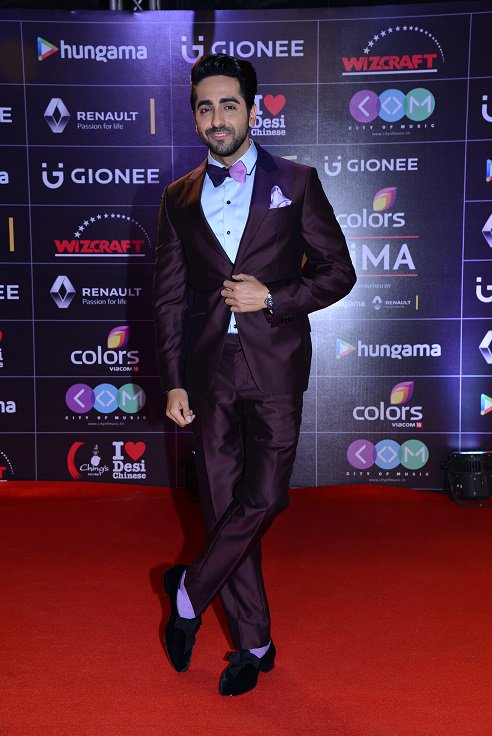 Ayushmann Khurana at GiMA Awards 2016 image, photo