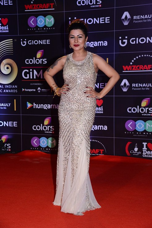 Hard Kaur at Gima Awards 2016 Image-Photo