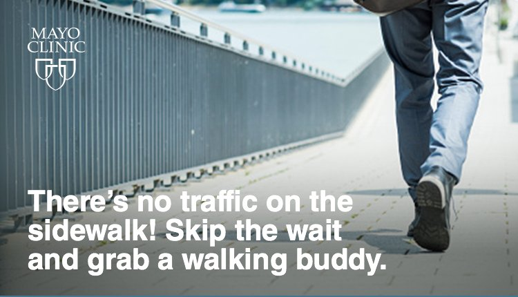 Walking 30-60 mins a day greatly reduces your risk of heart disease, cancer, stroke, diabetes. #NationalWalkingDay https://t.co/F6LWTBOVvW