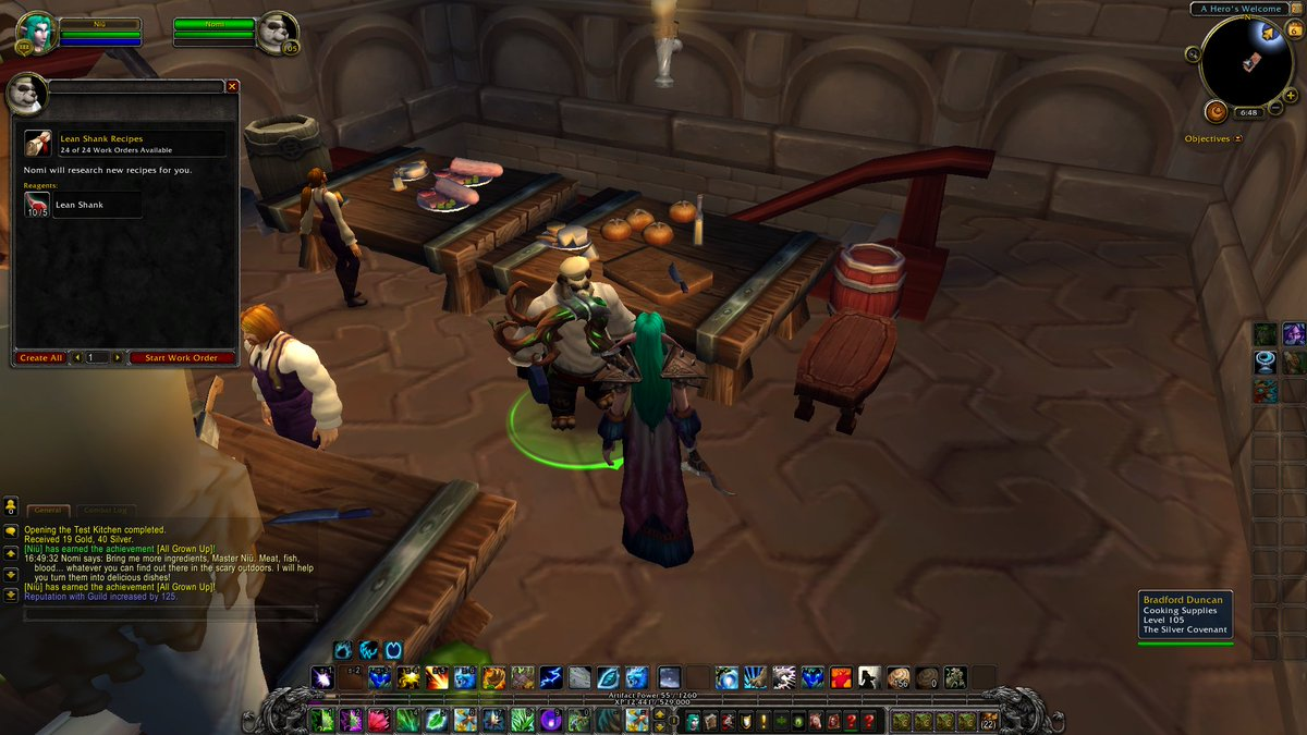 "Gin on Twitter: ""Erm ok, cooking recipes in #legion come from work"