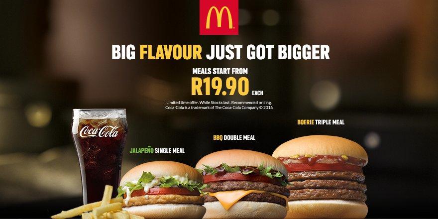 McDonald's S  Africa on Twitter: