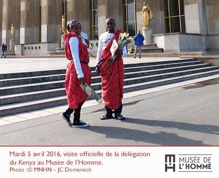 Musee De L Homme On Twitter Une Delegation Kenyane Etait Presente
