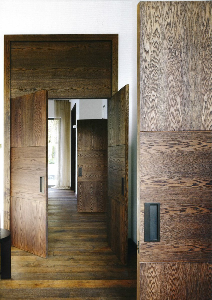 Kelly Hoppen MBE on Twitter  Bespoke double doors designed as a functional sculpture in this home. Scale doors up so they become a statement xx ... & Kelly Hoppen MBE on Twitter: