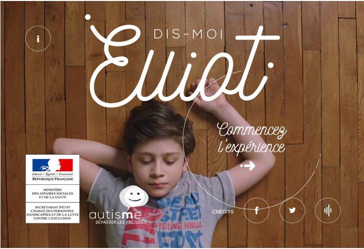 #dismoiElliot Jusqu'au 12 avril, une campagne pour dépasser les préjugés sur l'autisme. https://t.co/TqrQkRSSVH https://t.co/QYzDUvyWDc