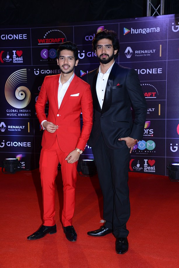 Armaan Malik and Amaal Malik at GiMA AWards 2016 image, pictures