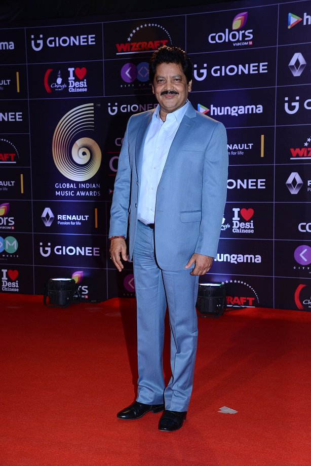 Udit Narayan at GiMA Awards 2016 image, pictures