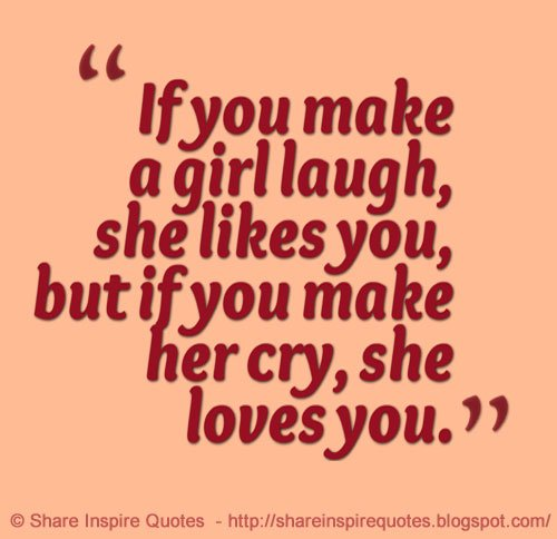 """Love Quotes For Your Girlfriend That Will Make Her Cry: Share Inspire Quotes On Twitter: """"If You Make A #girl"""