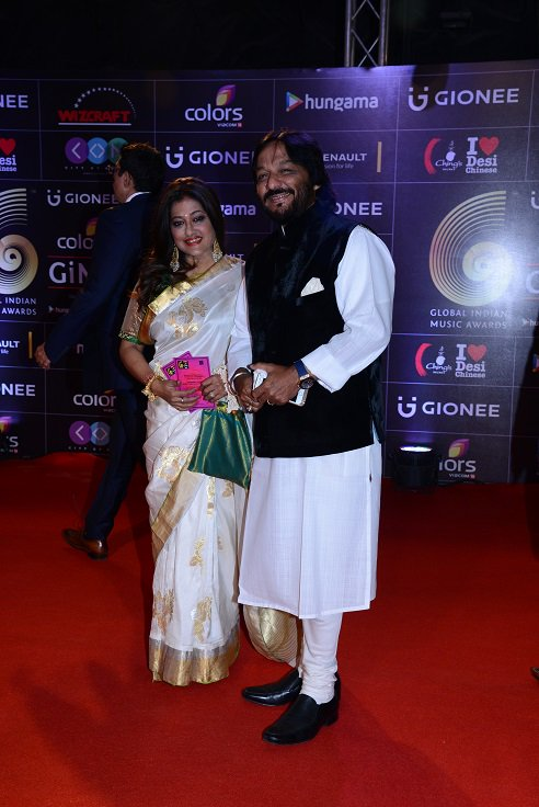 Roop Kumar Rathore at GiMA Awards 2016 image, picture