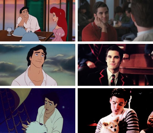 RT @mariiberman: Darren being prince eric since glee https://t.co/qjUmjkTPBo