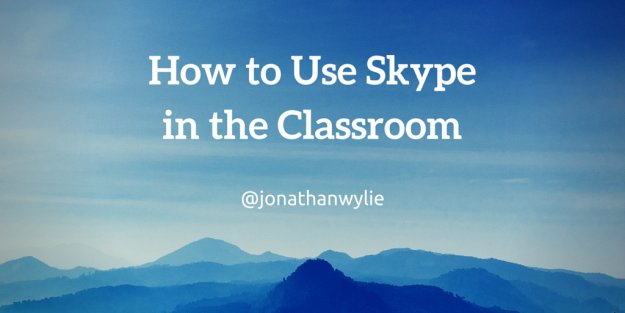 How to Use Skype in the Classroom to Get Connected https://t.co/MQwmKrlPWp #edtech #mieexpert #i11i https://t.co/qSOLk5Hjq9