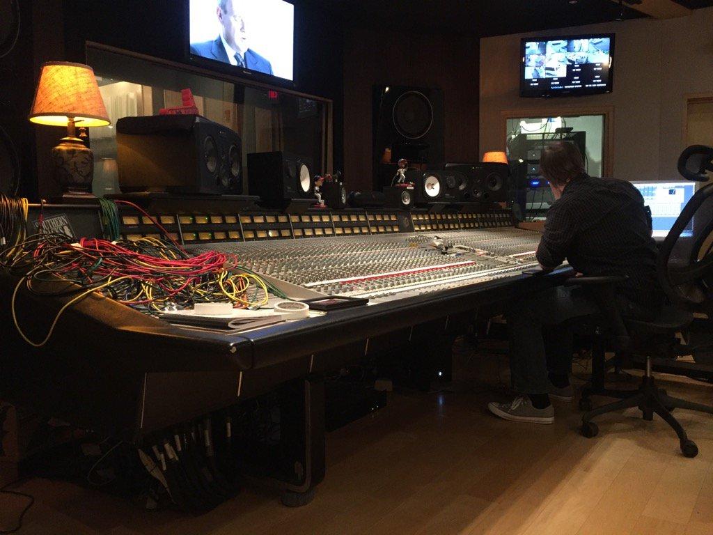 @FOZZYROCK back in the studio! https://t.co/Hk8gqCy1V2