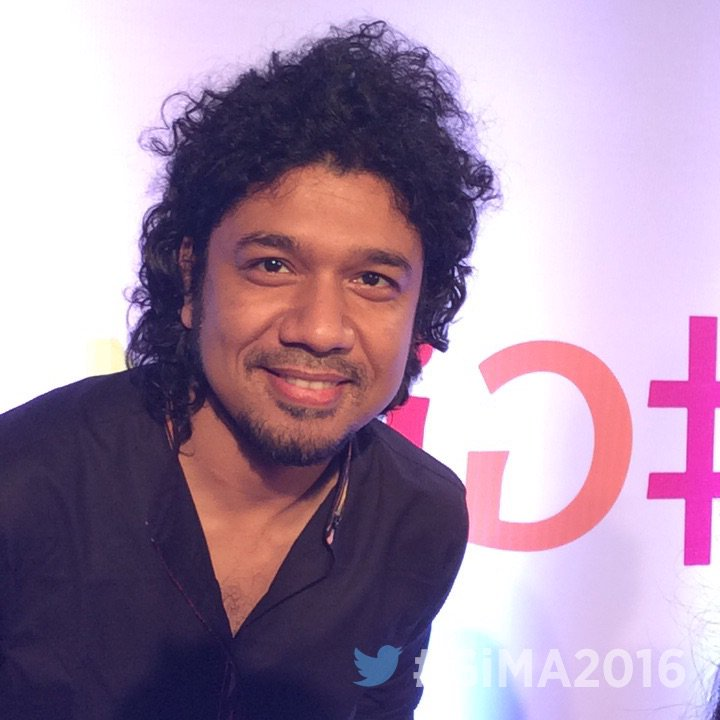 Musician Papon Angaraag at GiMA Awards 2016 image, photo