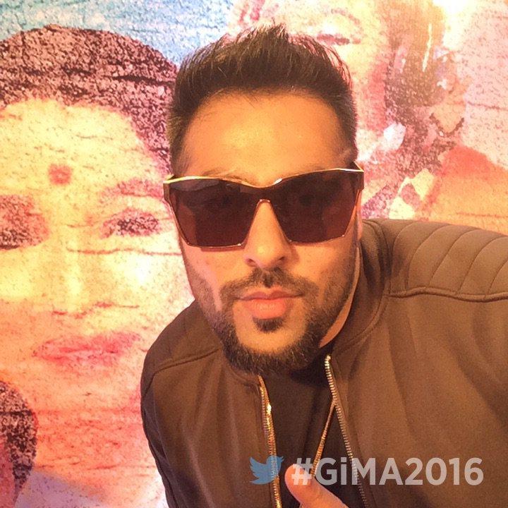 DJ wale Babu fame Badshah at GiMA 2016