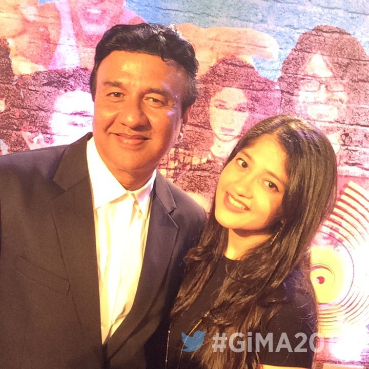 Anu Malik and Anmol Malik at GiMA 2016 image, photo