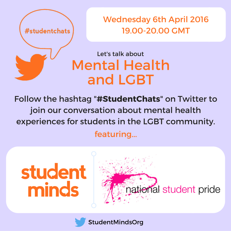 Thumbnail for #StudentChats April '16 - LGBT and Mental Health