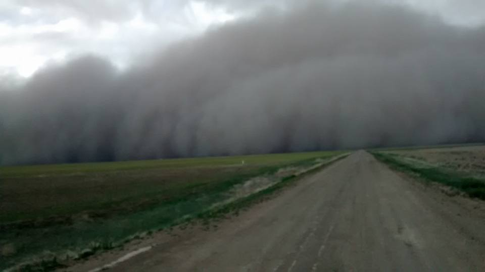 Oh, you like dust storm pics, do ya? Well here's some from Cimarron County. #okwx #okmesonet https://t.co/HguaFp15Uz