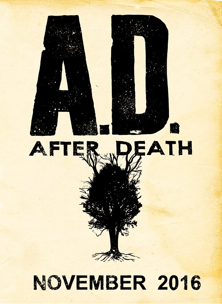 Excited to announce that AD: AFTER DEATH a graphic novel by @Ssnyder1835 and myself will be published this NOVEMBER! https://t.co/Yn1dYx5FQp