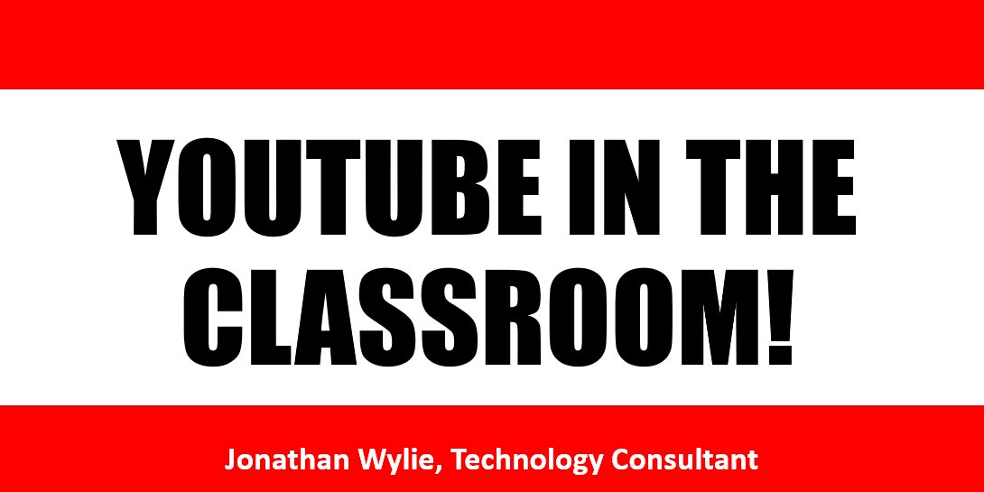 Awesome tips and tricks for YouTube teachers from @jonathanwylie at #i11i today  https://t.co/cps41CgFI7 #iaedchat https://t.co/HAvIBhD5Ud