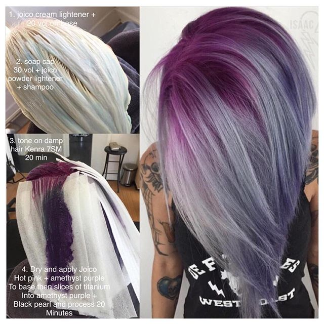 Cosmoprof Beauty On Twitter Quot Purple Shadow Root Hair