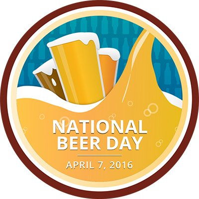 Thursday, April 7th is National Beer Day, so of course we will be celebrating w/ a badge! https://t.co/chWrxDHBbD https://t.co/0anJGr6od7