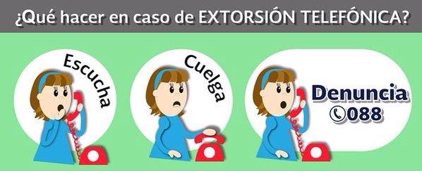 ¡Alerta! En caso de recibir llamadas de los sig núm: 618-2004097 y 2002013 omitir, se trata de una extorsión. https://t.co/HnWOjnBImF