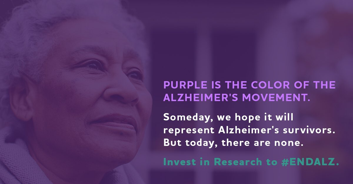 1 in 3 seniors dies with Alzheimer's/dementia, which is why I'm asking Congress to invest in Alz #ENDALZ https://t.co/PF6TiIxqjg